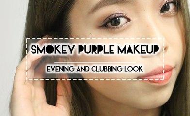 TUTORIAL | Smokey Purple Evening Makeup