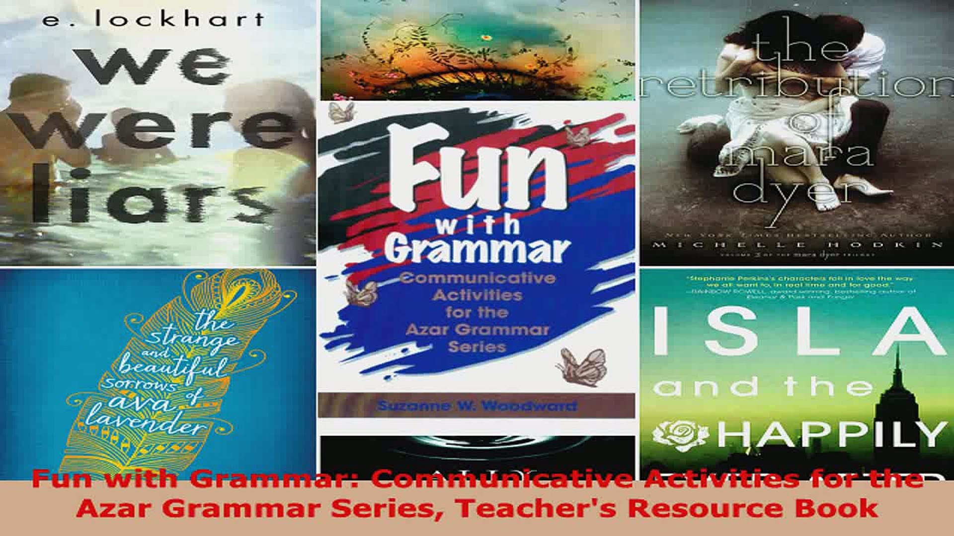 Read Fun With Grammar Communicative Activities For The Azar