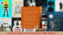 Download  Fundamentals of Air Pollution Fifth Edition PDF Free