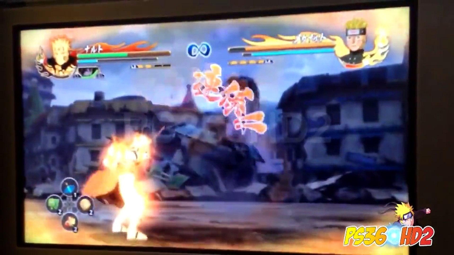 Naruto Shippuden: Ultimate Ninja Storm Revolution | Naruto KCM2 vs Mecha Naruto Demo Gamep
