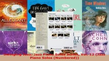 Download  Swinging Jazz Jazz Piano Solos Series Vol 12 Jazz Piano Solos Numbered Ebook Free