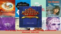Download  The Gregg Reference Manual Gregg Reference Manual 9th Ed PDF Online