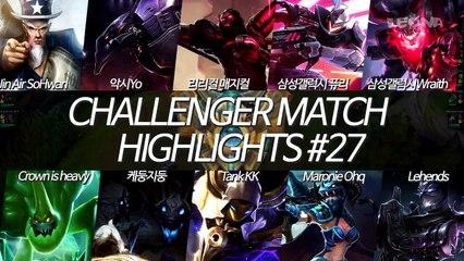 KR Challenger Match Highlights EP27 - Wraith, Fury, Ohq