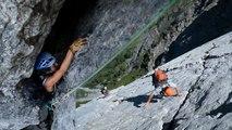Le Miroir d'Argentine La Directe Alpes Vaudoises Suisse escalade alpinisme