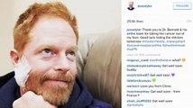 Jesse Tyler Ferguson le agradece a los doctores por 'removerle el cáncer' de su rostro