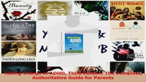 PDF Download  Taking Charge of ADHD Third Edition The Complete Authoritative Guide for Parents PDF Full Ebook