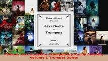 Download  Famous Jazz Duets for Trumpets by Randy Aldcroft volume 1 Trumpet Duets EBooks Online