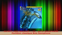 Download  SCHOTT JAZZ BALLADS  CD  ALTO SAXOPHONE Partition classique Bois Saxophone PDF Online
