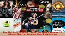 Read  Red Hot Chili Peppers  Bass PlayAlong Volume 42 BookCD Hal Leonard Bass PlayAlong EBooks Online