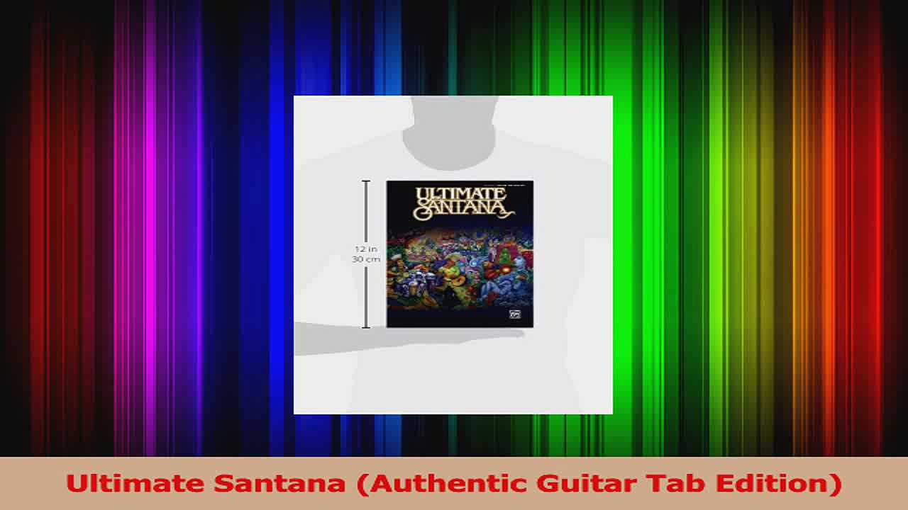 Download  Ultimate Santana Authentic Guitar Tab Edition PDF Online