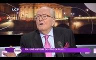 """Jean-Marie Le Pen : """"Manuel Valls devra partir si Marion et Marine Le Pen gagnent"""" aux régionales"""