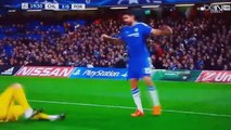 Diego Costa vs Iker Casillas ! Chelsea - Porto
