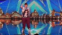 When Stavros met Dylan: the young dancer is determined to impress Alesha | Britains Got Talent 20