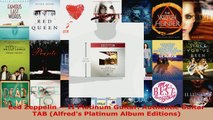 Download  Led Zeppelin  II Platinum Guitar Authentic Guitar TAB Alfreds Platinum Album PDF Online