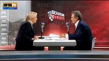 """Le Pen comparée à Trump: """"Je ne suis pas américaine, je ne suis pas Nicolas Sarkozy"""""""