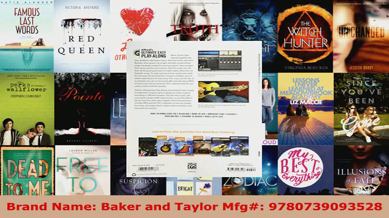 Download  Ultimate Easy Guitar PlayAlong  Led Zeppelin Easy Guitar TAB Book  DVD Alfreds EBooks Online