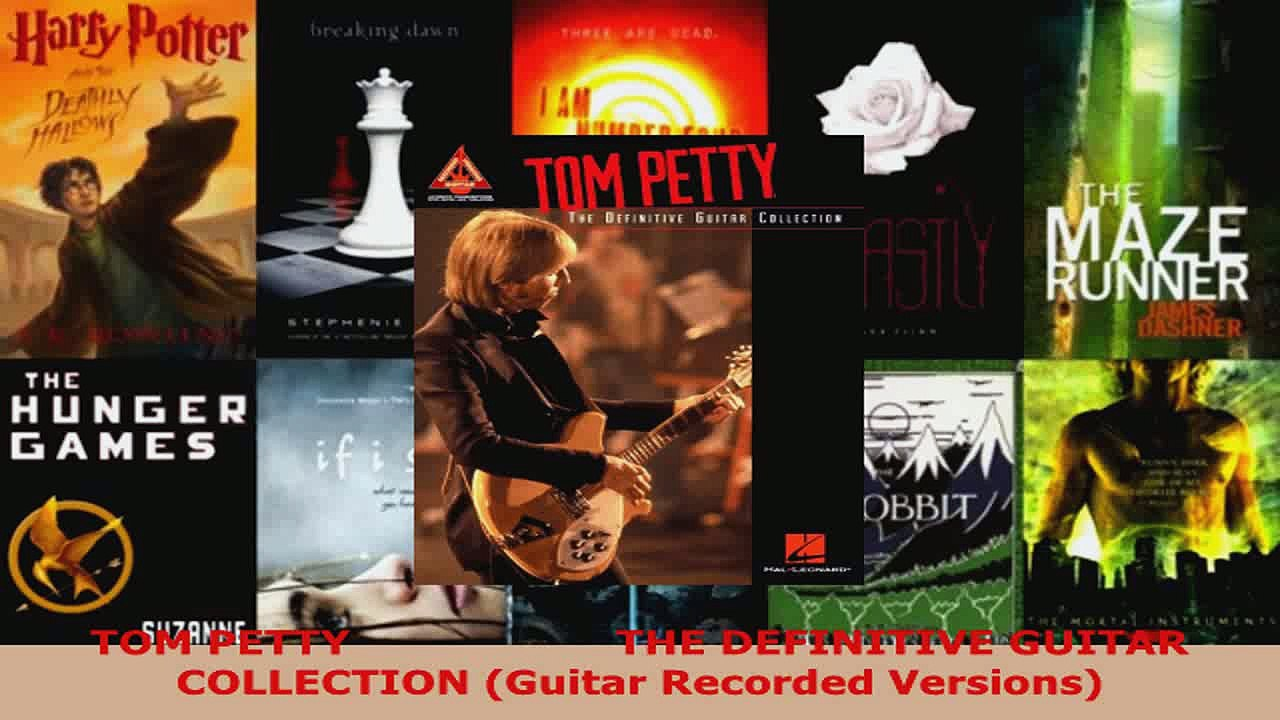 Guitar Recorded Versions The Definitive Guitar Collection Tom Petty
