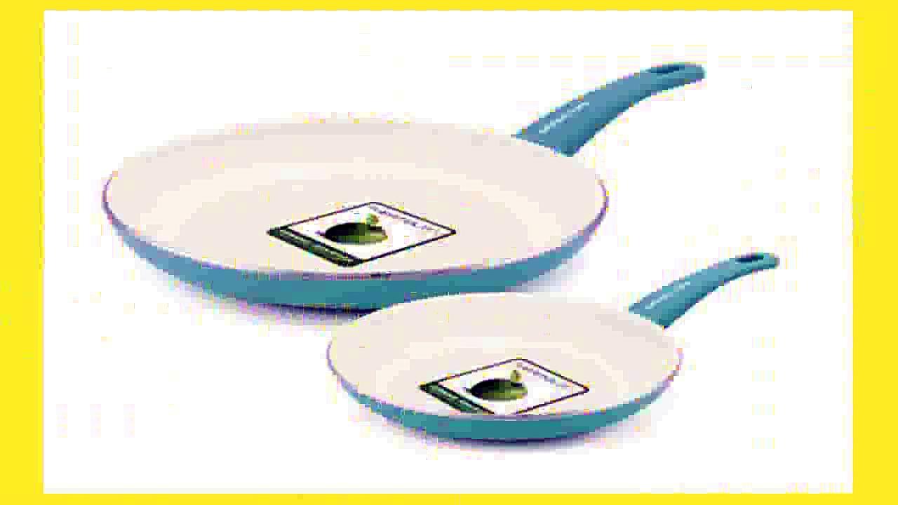 Best buy Nonstick Cookware Set  GreenLife 14 Piece Nonstick Ceramic Cookware Set with Soft Grip Turquoise
