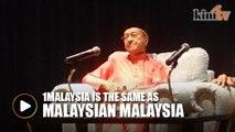 '1 Malaysia rugikan satu pihak, yang lain untung'