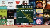 Download  Solos for the Tenor Saxophone Player with Piano Accompaniment Ebook Free