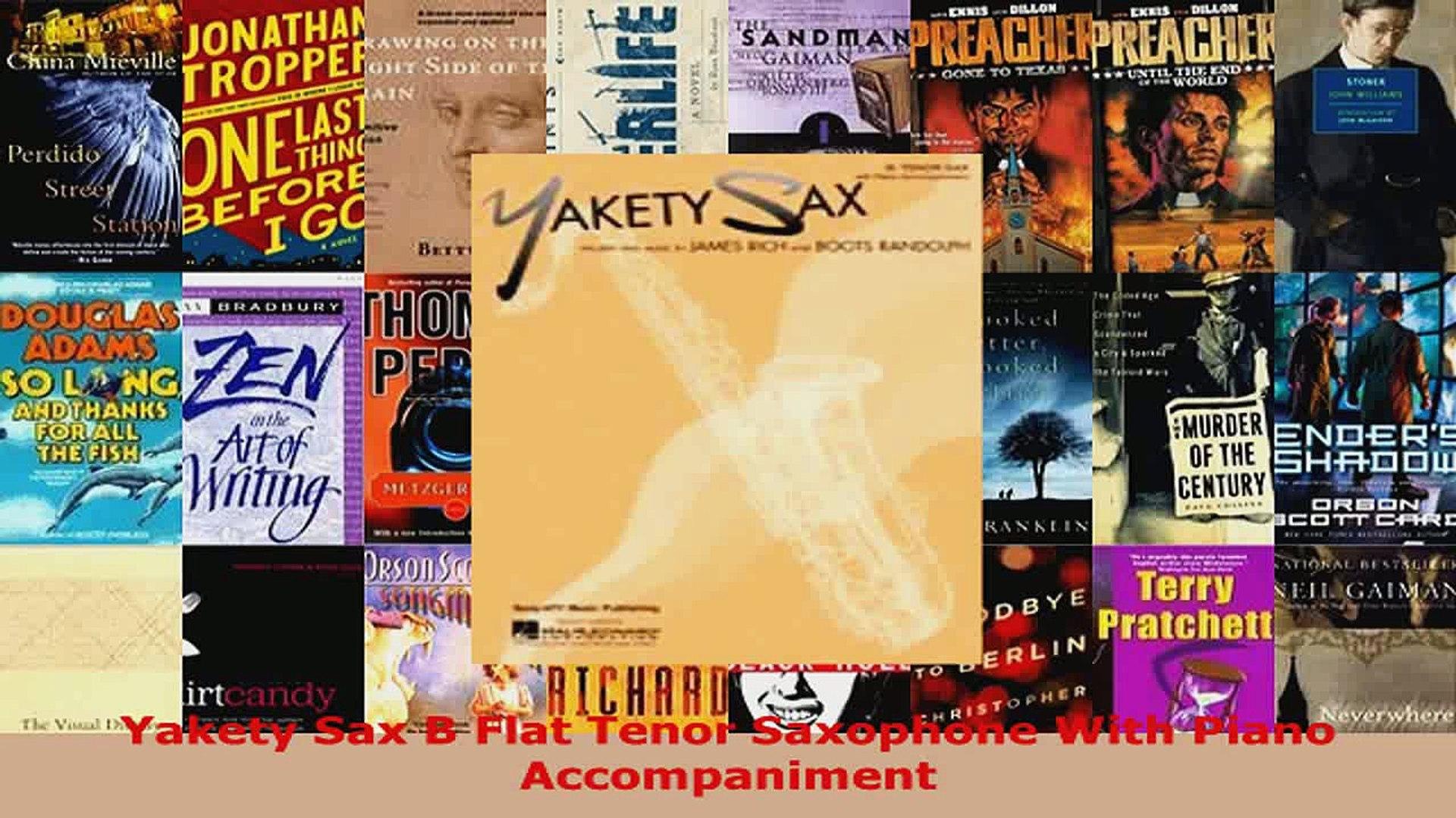 Download Yakety Sax B Flat Tenor Saxophone With Piano Accompaniment PDF  Online