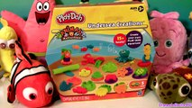 Play Doh Undersea Creations Hungry Hungry Hippo Eats Nemo Octopus Ocean Animals Disney Fin