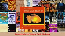 Download  Essentials of Stem Cell Biology Ebook Free
