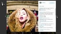 Madonna improvise un concert à République, en hommage aux victimes des attentats