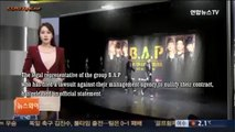 B.A.P News: B.A.P released an offical statement [Eng Sub] Yonhap News (United News) TV report