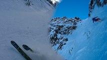 Bel Oiseau 2643 mètres couloir Nord-Est ski de randonnée alpinisme