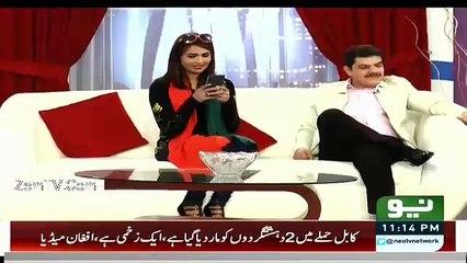 Mubashir Making Fun Of Tahir ul Qadri