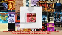Student Manual for Coreys Theory and Practice of Counseling and Psychotherapy 9th PDF