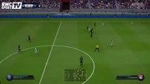 FIFA 16 - PSG-Lyon : Ibrahimovic bute sur Lopes (0-1)