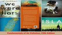 PDF Download  Fundamentals of Air Pollution Fifth Edition Download Full Ebook