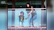 Shahrukh Khans HOT Daughter Suhana With Abram Khan At Mannat On SRKs Birthday