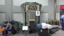 Fans Camp Out in Line Days Before New Star Wars Movie Release