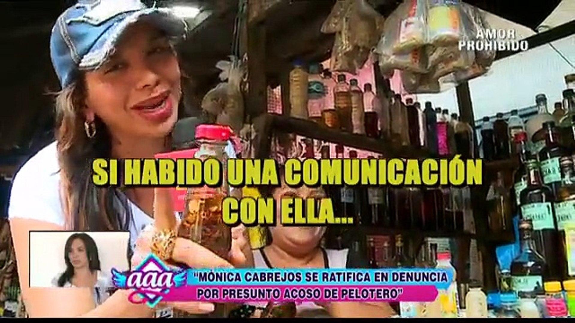 AMOR AMOR AMOR 10-12-2015 : Mónica Cabrejos - esta es la verdad sobre presunto acoso de pelotero