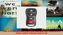 Program Programming Toyota Scion Keyless Remote Key FOB