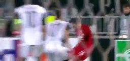 Jeong-Ho Hong Goal - Partizan 1 - 1 Augsburg - 10/12/2015