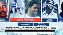 Rwanda : arrestation en RDC de l'un des génocidaires présumés les plus recherchés