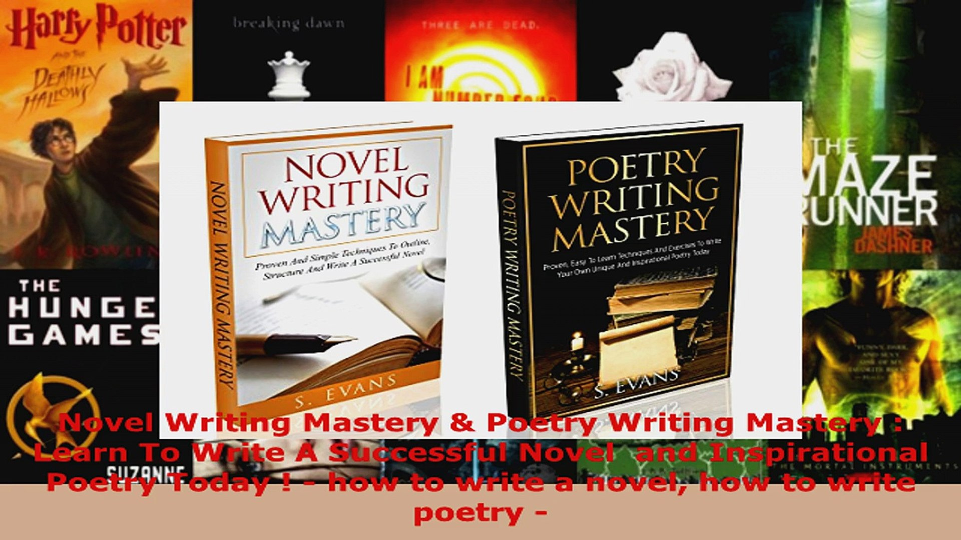 Read Novel Writing Mastery Poetry Writing Mastery Learn To Write A