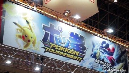 Pokkén Tournament, un Tekken avec des Pokémon (JAEPO 2015) #145