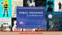 Read  Public Speaking Confidence Prepare and deliver great speeches every time PDF Online