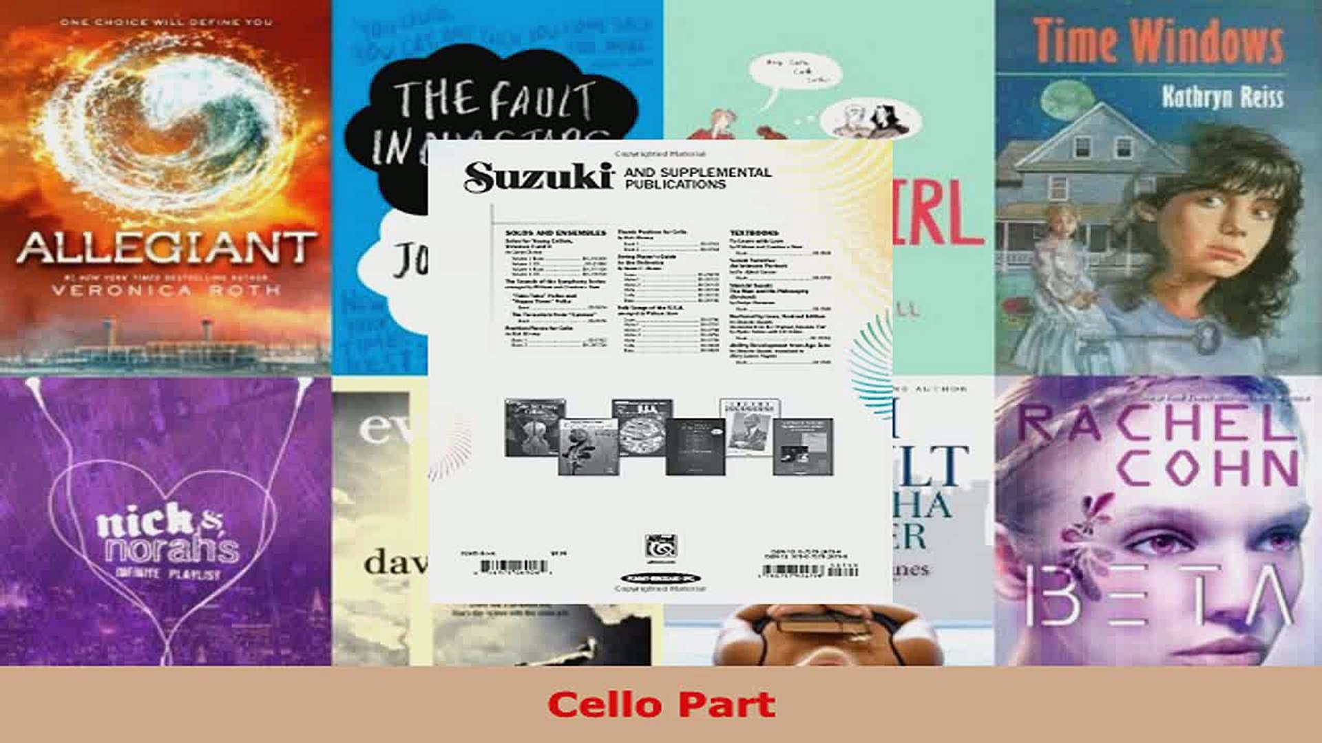 Read Suzuki Cello School Vol 6 Cello Part Suzuki Method Core Materials PDF  Free