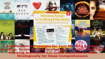 Download  Informational Passages for Text Marking  Close Reading Grade 5 20 Reproducible Passages Ebook Free