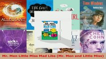 Read  Mr Men Little Miss Mad Libs Mr Men and Little Miss PDF Online