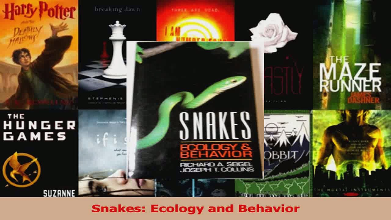 Snakes Ecology and Behavior