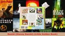 Download  Bambi Disney Bambi Little Golden Book PDF Online