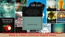 Read  Watchwords A Dictionary of Whats Right Wrong  Risky in Todays American English Usage PDF Free