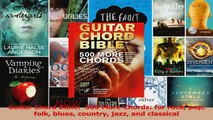 Read  Guitar Chord Bible  500 More Chords for rock pop folk blues country jazz and classical Ebook Free